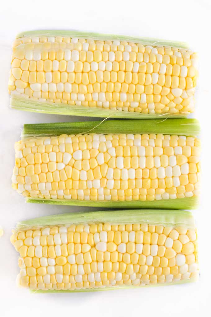 Image of 3 Corns on the Cob