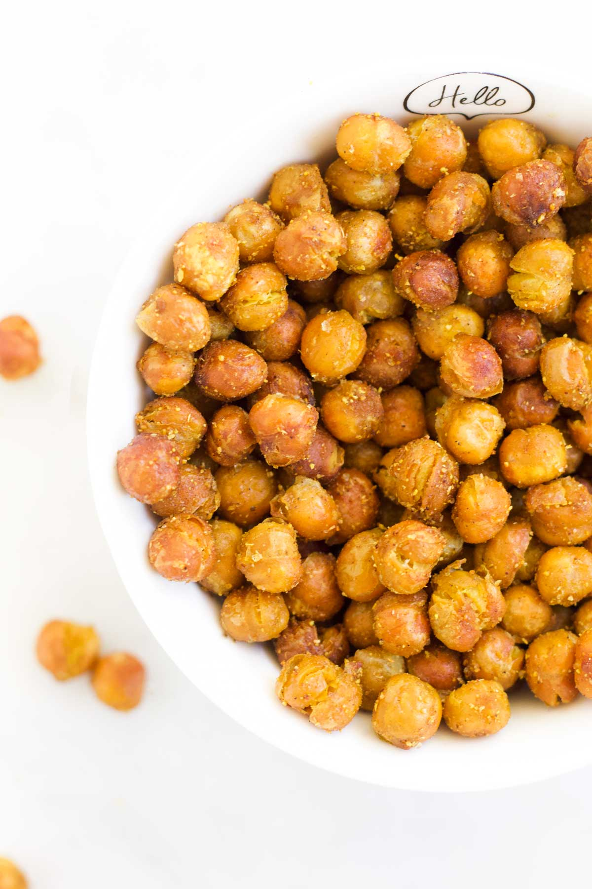 Baked Chickpeas in a Bowl