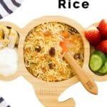Carrot Rice Kids Pinterest Pin