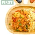 My First Curry Pinterest Pin