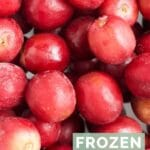 Frozen Grapes Pinterst Pin 2