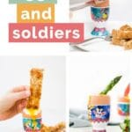 Eggs and Soldiers Pinterest Pin
