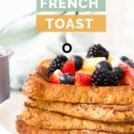French Toast Pinterest Pin