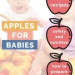 Apples for Babies Pinterest Pin